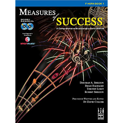 FJH Music Measures of Success F Horn Book 1