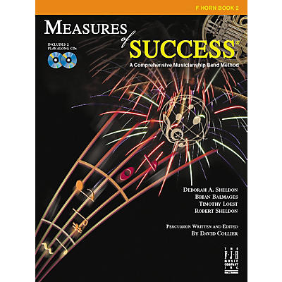 FJH Music Measures of Success F Horn Book 2