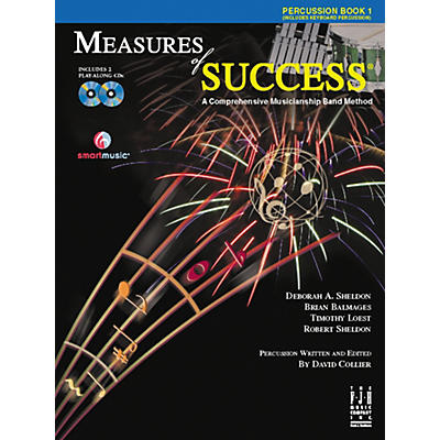 FJH Music Measures of Success Percussion Book 1