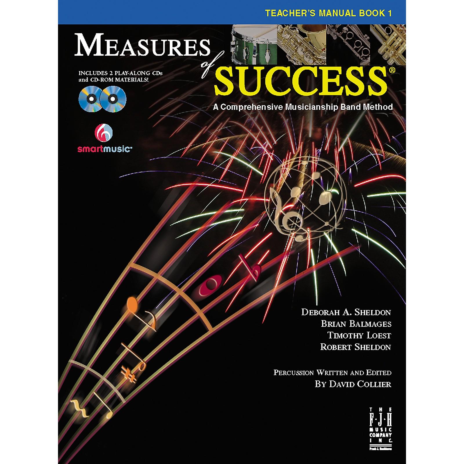 FJH Music Measures of Success Teacher's Manual Book 1