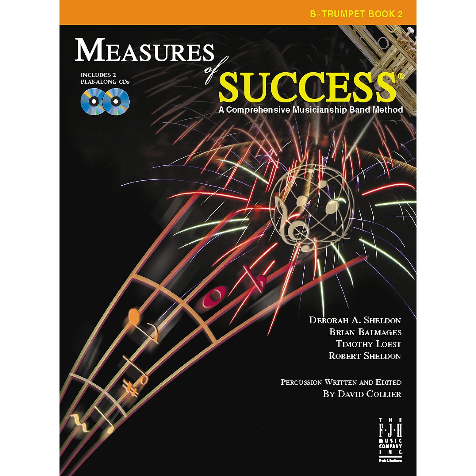 FJH Music Measures of Success Trumpet Book 2