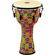 Mechanically Tuned Djembe with Synthetic Shell and Goat Skin Head 10 in. Kenyan Quilt