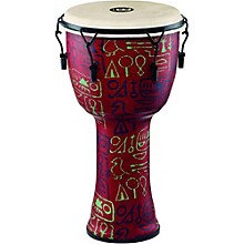 Mechanically Tuned Djembe with Synthetic Shell and Goat Skin Head 12 in. Pharaoh's Script