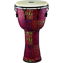 Mechanically Tuned Djembe with Synthetic Shell and Goat Skin Head 14 in. Pharaoh's Script