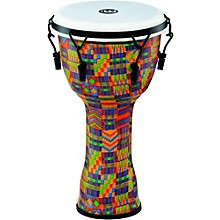 Mechanically Tuned Djembe with Synthetic Shell and Head 10 in. Kenyan Quilt