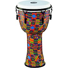 Mechanically Tuned Djembe with Synthetic Shell and Head 12 in. Kenyan Quilt