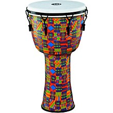 Mechanically Tuned Djembe with Synthetic Shell and Head 14 in. Kenyan Quilt