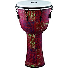 Mechanically Tuned Djembe with Synthetic Shell and Head 14 in. Pharaoh's Script