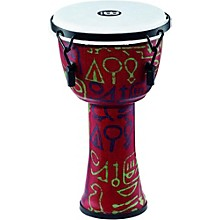 Mechanically Tuned Djembe with Synthetic Shell and Head 8 in. Pharaoh's Script