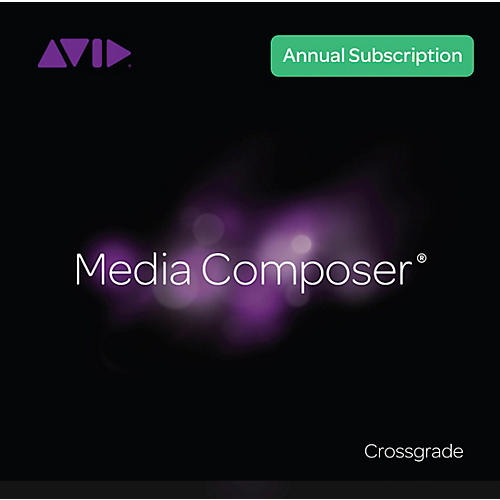Avid Media Composer Annual Subscription Crossgrade