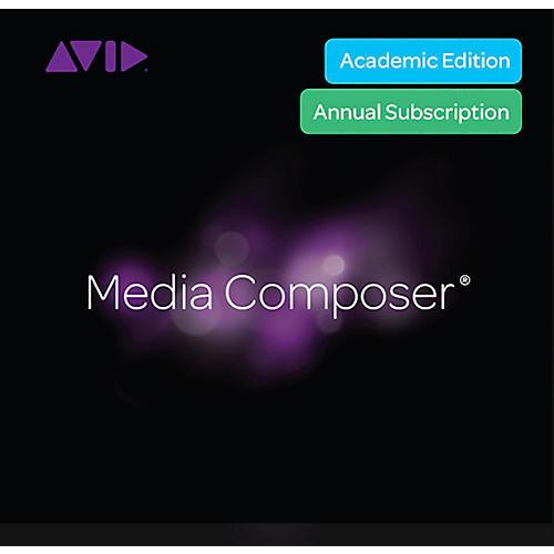Avid Media Composer Institution and Teacher Subscription