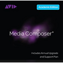 Avid Media Composer NEW Perpetual License with 1-Year of Updates + Support for Students/Teachers (Download)
