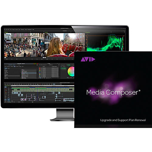 Avid Media Composer RENEWAL 1-Year of Updates + Support for Perpetual License (Download)