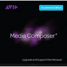 Avid Media Composer RENEWAL 1-Year of Updates + Support for Students/Teachers Perpetual License (Download)