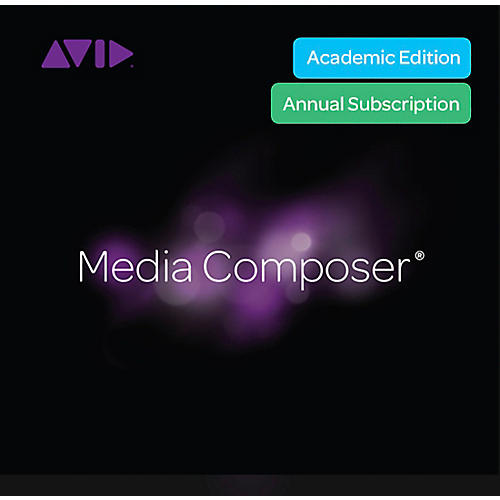 Avid Media Composer Student Subscription Renewal