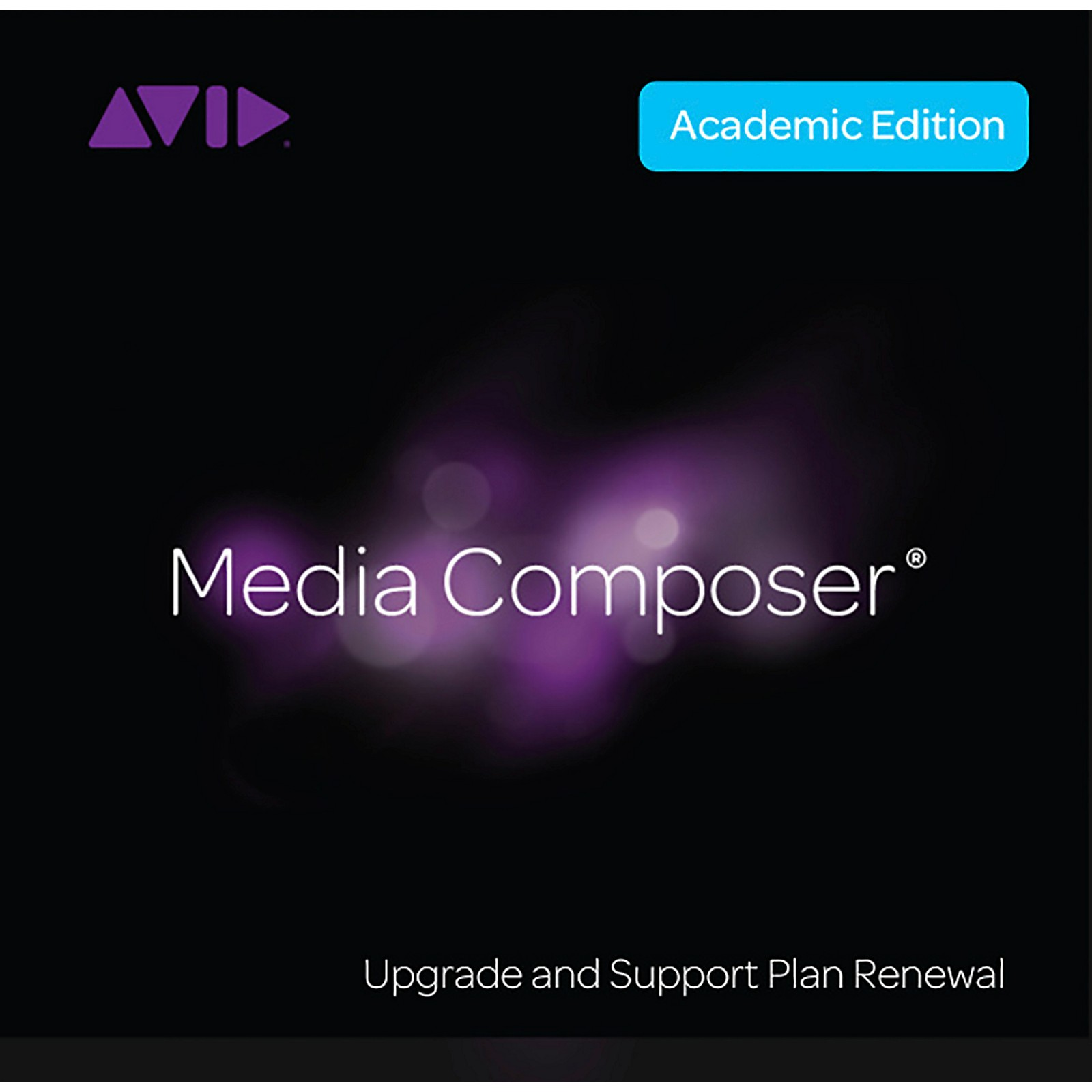 Avid Media Composer Student/Teacher 1-Year Perpetual Renewal + Updates/Support (Download)