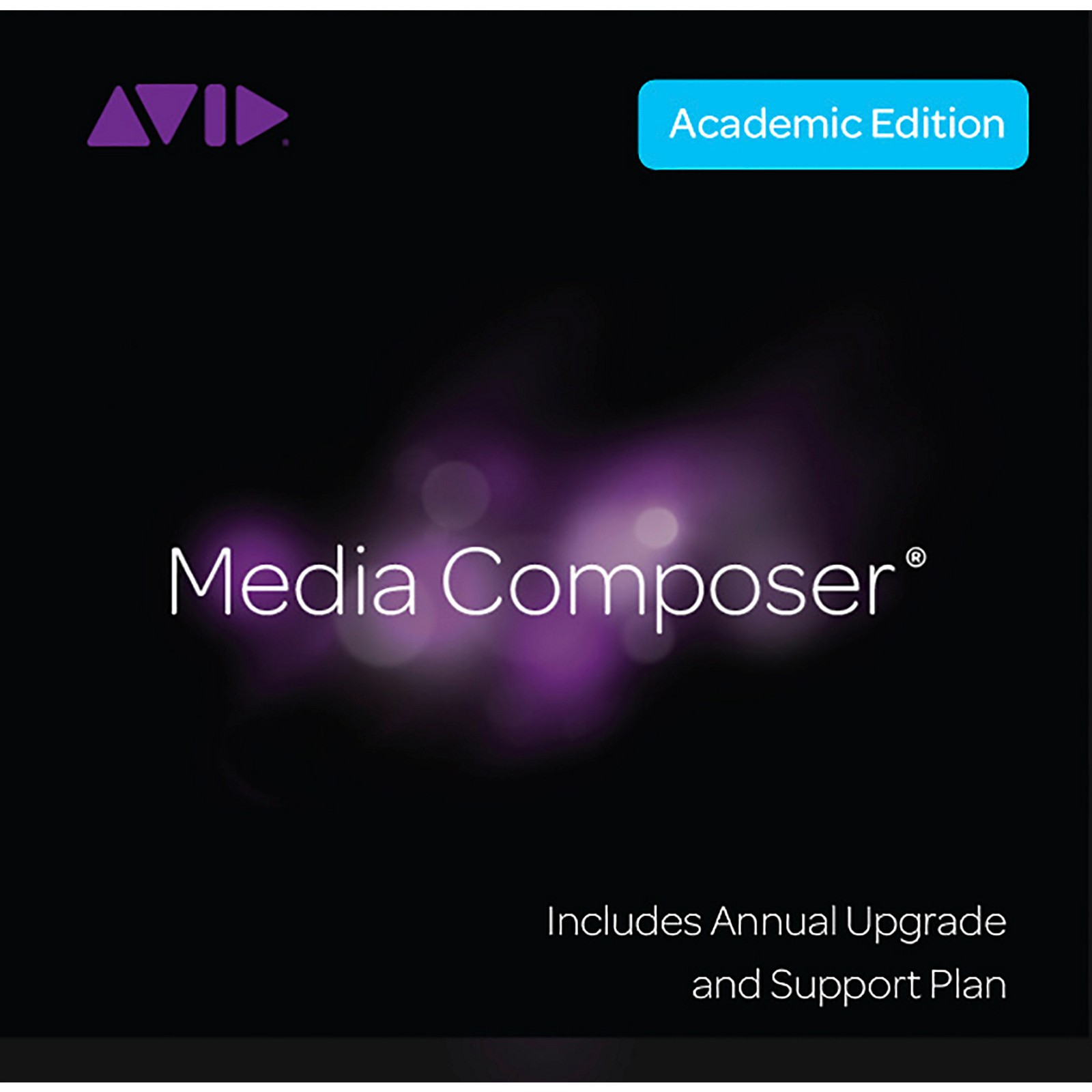 Avid Media Composer Student/Teacher Perpetual + 1-Year Updates/Support (Download)