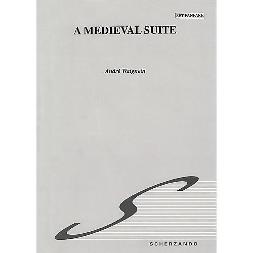 Hal Leonard Medieval Suite Score Only Concert Band