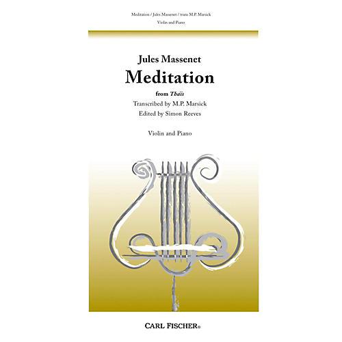 Carl Fischer Meditation