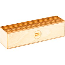 Meinl Medium Baltic Birch Wood Shaker with Exotic Zebrano Top