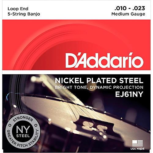 D'Addario Medium Banjo Strings (10-23)