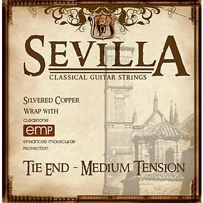 Sevilla Classical Guitar Strings Medium Tension Classical Tie-On Guitar Strings