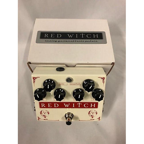 Red Witch Medusa Chorus Tremolo Effect Pedal