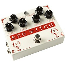 Open Box Red Witch Medusa Chorus and Tremolo Guitar Effects Pedal