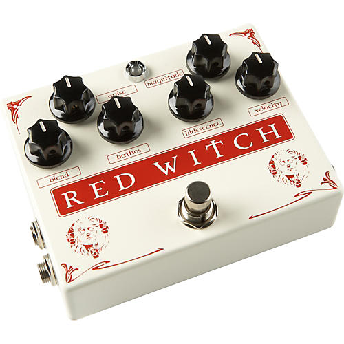 Red Witch Medusa Chorus and Tremolo Guitar Effects Pedal Condition 2 - Blemished Regular 190839453358