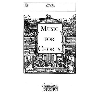 Hal Leonard Meet Me (Choral Music/Octavo Secular Sab) SAB Composed by Dewitt, Patti