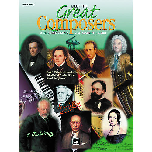 Alfred Meet the Composers 2 Book
