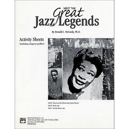 Alfred Meet the Great Jazz Legends: Textbook