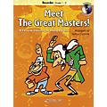 Curnow Music Meet the Great Masters! De Haske Play-Along Book Series Softcover with CD thumbnail