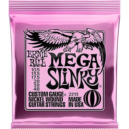 Ernie Ball Mega Slinky Nickel Wound Electric Guitar Strings - Gauge 10.5 - 48