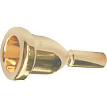 Mega Tone Large Shank Trombone Mouthpiece in Gold 6-1/2AL
