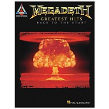 Hal Leonard Megadeth - Greatest Hits: Back to the Start Guitar Tab Songbook