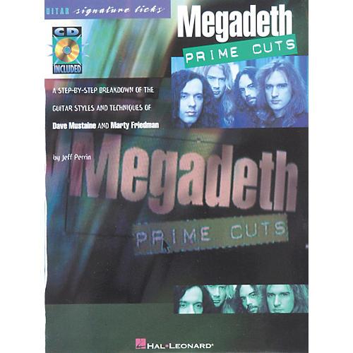 Hal Leonard Megadeth - Prime Cuts (Book/CD)