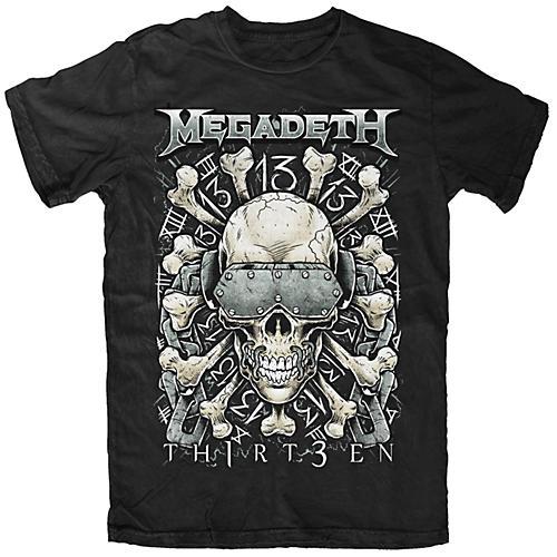 Fea Merchandising Megadeth - Red Bone T-Shirt