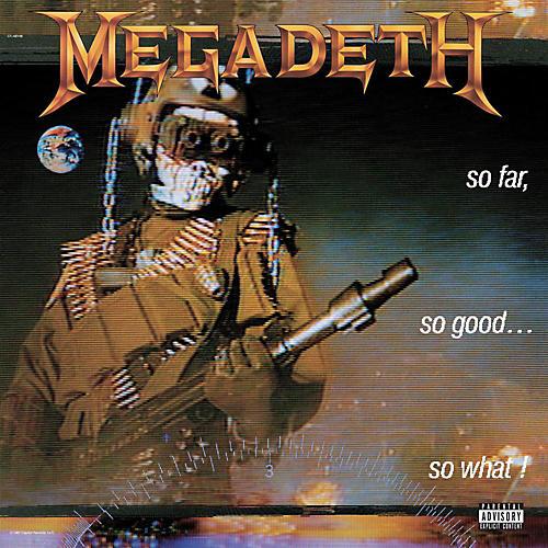 Universal Music Group Megadeth - So Far, So Good, So What
