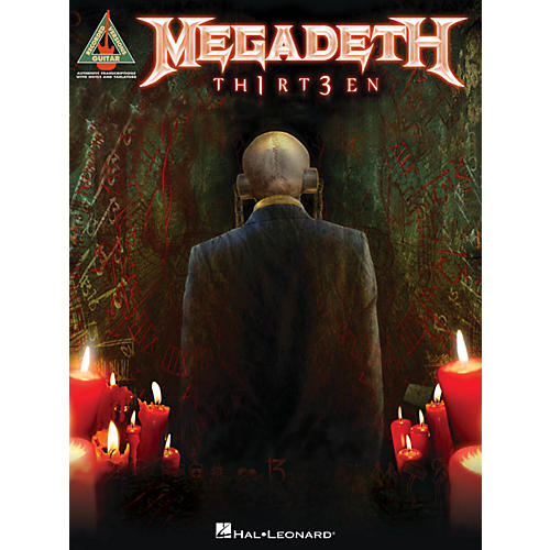 Hal Leonard Megadeth - Th2rt3en Songbook