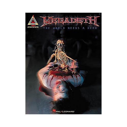 Hal Leonard Megadeth - The World Needs a Hero Book