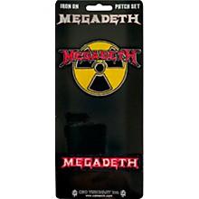 C&D Visionary Megadeth 2 Piece Patch Set