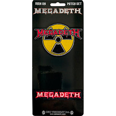 C&D Visionary Megadeth 2 Piece Patch Set