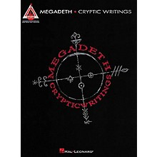 Hal Leonard Megadeth Cryptic Writings Guitar Tab Songbook