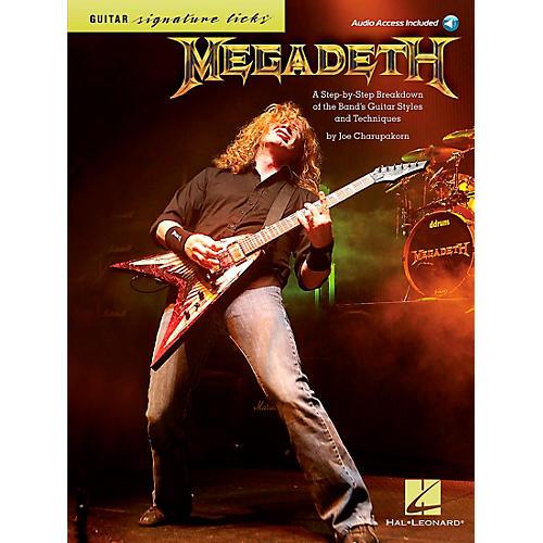 Hal Leonard Megadeth Guitar Signature Licks Book/CD