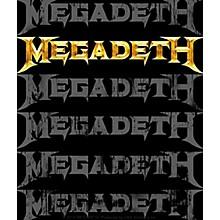 C&D Visionary Megadeth Multi Logo Sticker