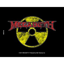 C&D Visionary Megadeth Radioactive Magnet