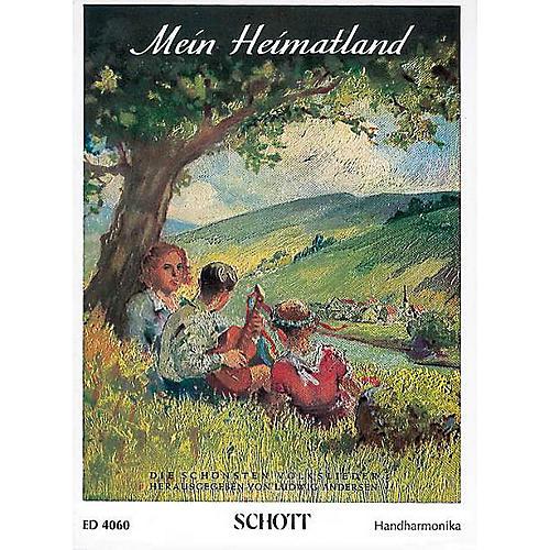 Schott Mein Heimatland Harmonica Schott Series