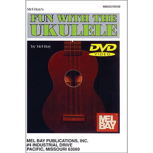 Mel Bay Mel Bay Fun with The Ukulele (DVD)