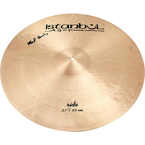 Istanbul Agop Mel Lewis Ride Cymbal 21 in.